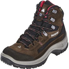Dachstein Schober MC GTX Zapatillas de senderismo Mujer, dark brown/cranberry